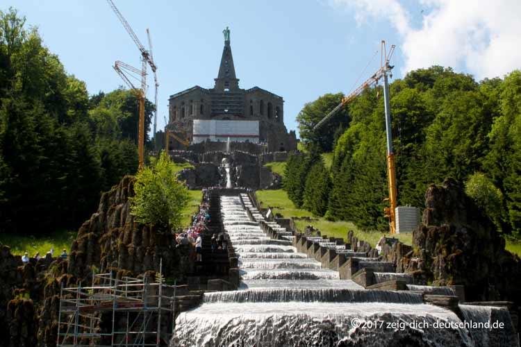 Herkules Denkmal Kassel Wasserspiele Zeig Dich Deutschland